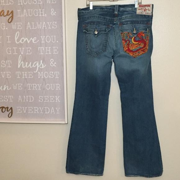 8ee6074fa True Religion Dragon Pocket Billy Jean 38x34 Men s.  M 5ad39e01b7f72b4d0f766f0a